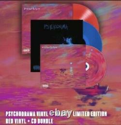 Psychodrama Vinyl +'waitt' Edition Limitée Vinyl Rouge + CD Bundle