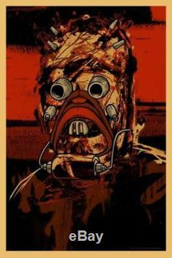 Raider Impr Écran Par Dave Kinsey Main Numéroté Wars Mondo Poster Étoile