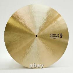 Sabian Limited Edition 21 Dave Weckl Serenity Flat Ride Cymbal, 168 Sur 250