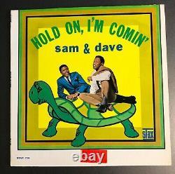 Sam & Dave Held On I'm Comin' Stax Mono White Étiquette Promo Lp Ex/vg+ À Venir