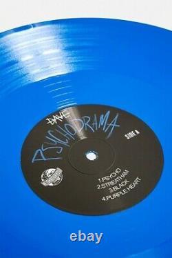 Santan Dave Psychodrama Blue Vinyl Pré-commande P&p Gratuit