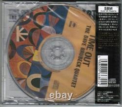 Scellé Dave Brubeck Temps De Sortie Japon 24k Gold CD Srcs6680 Avec Obi+promo Sticker