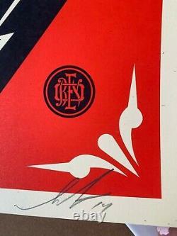 Shepard Fairey Limited Edition Écran Imprimer Dave Chappelle Radio City