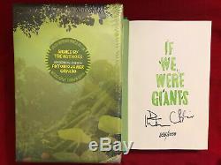 Signé Dave Matthews If We Were Giants Limited Edition Numéroté Livre À La Main