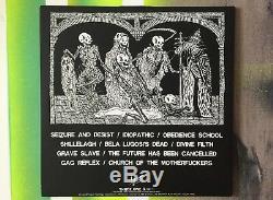 Signé Par Dave Lombardo Slayer Mike Patton Foi Plus Mort Cross Vinyl Lp