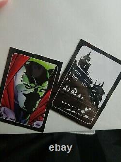 Spawn Ten #10 Variante Ashcan Signée Dave Sim Limited /300 Cartes De Haute Qualité