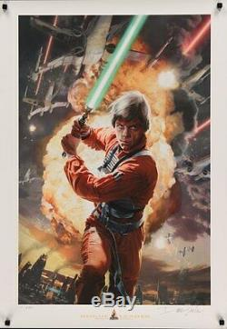 Star Wars Celebration 4 Rogue Leader Édition Limitée Ap # 250 Dave Seely