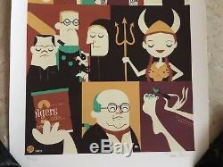 The Big Lebowski Movie Poster Art Imprimer 33/45 The Dude Dave Perillo Mondo Sdcc
