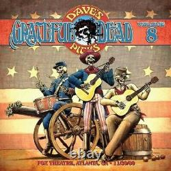 The Grateful Dead Rare 3 CD Dave's Picks Vol 8 Live 1980 Atlanta Numbered Mint