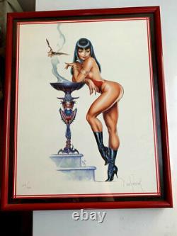 Vampirella- Édition Limitée Tirage D'art Original De Dave Stevens! Signé #163/1200