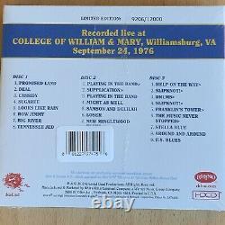Vol 4 William & Mary Virginia 24/09/1976 3cd Nouveau Scellé